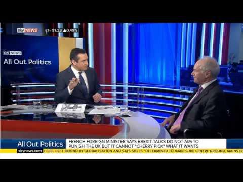 EU Would be Foolish to Put Tariffs on UK Goods
