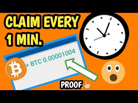 Claim Bitcoin Every 1-5 Minutes Instant Payout With Proof