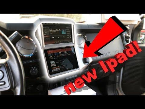 New Mod! Apple IPad Mini Install In My F350 Platinum
