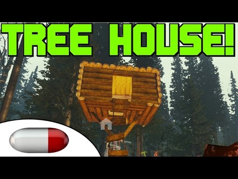 The Forest - TREE HOUSE! - Completed @25:59 - Super Jump @23:46 - Ep. 6 (V0.07)
