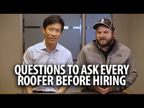 What questions should you ask a contractor? from YouTube · Duration:  27 minutes 33 seconds