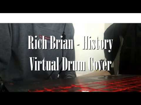 History - Rich Brian - Virtual Drum Cover (F*cked Up Ver.)