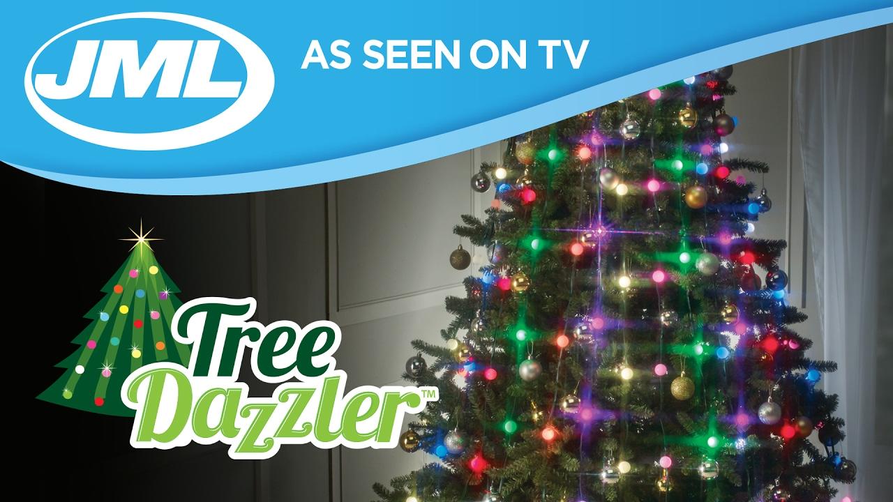 Tree Dazzler Easy LED Christmas Tree Lights from JML  YouTube