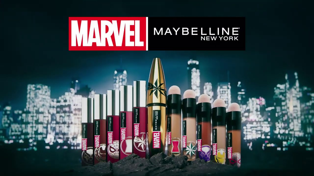 MARVEL x Maybelline New York - YouTube