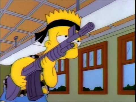 Los Simpsons - fin de año escolar (español latino)