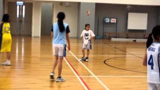 2012-13 藍田循道衛理小學女子籃球隊友誼賽第六場