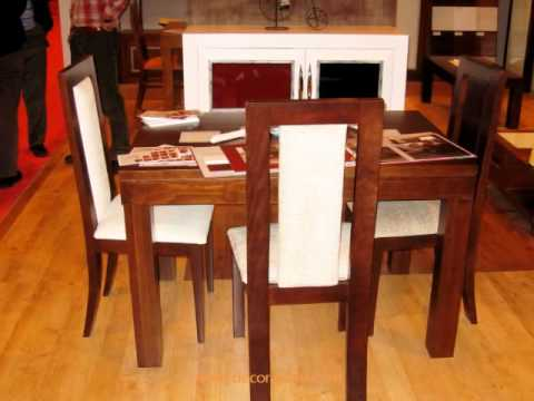 Muebles artesanales de madera maciza feria del mueble for Muebles artesanales