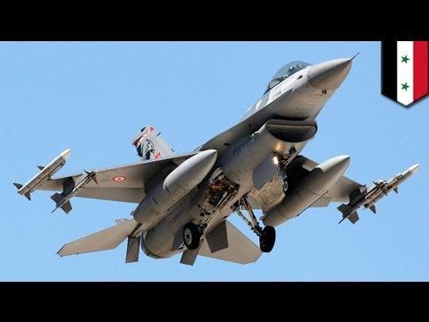 Turkish F-16 shoots down Syrian MiG-23