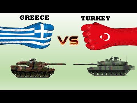 Greece vs Turkey | Military Comparison (2020)
