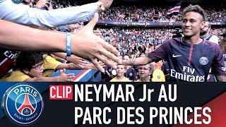 PRESENTATION DE NEYMAR Jr AU PARC DES PRINCES