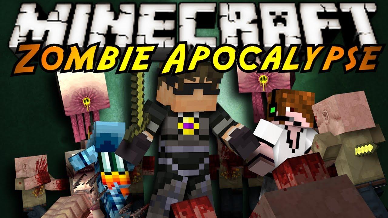 Minecraft: Zombie Apocalypse Part 2 YouTube