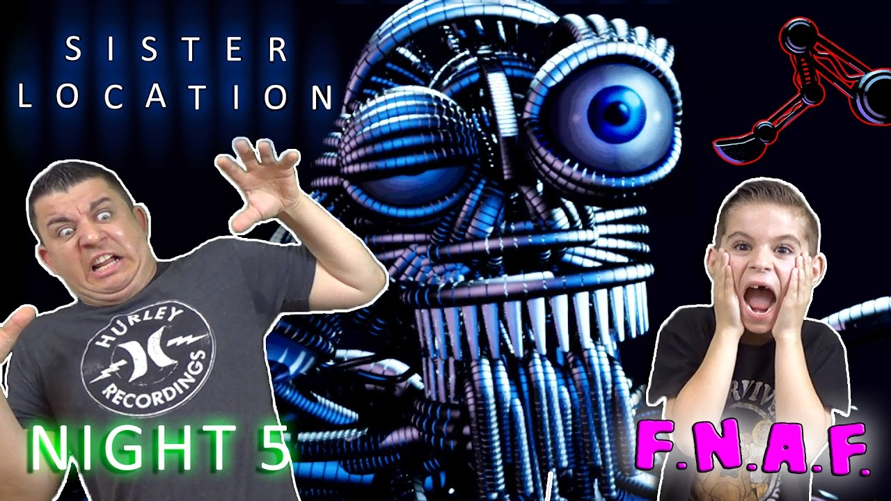 Download THE SCOOPER! Five Nights At Freddy's SISTER LOCATION - Night 5