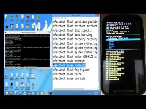Flash Moto E-Stock ROM   1st Gen