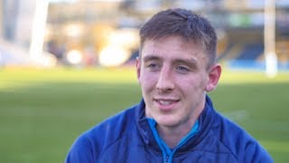 Josh Adams - Winning try was a special moment