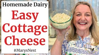 How to Make Cottage Cheese - The Easy Way!
