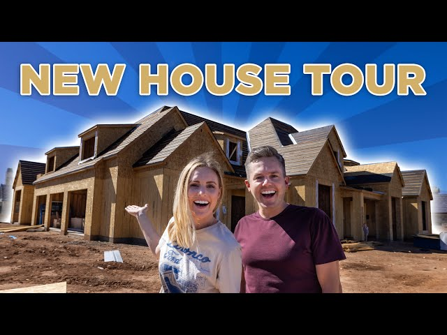 FIRST NEW HOUSE TOUR!   Ellie and Jared