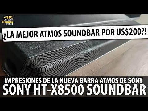 Análisis Sony X8500 ¡¿La Mejor Soundbar Atmos por us$200 del mercado?! ¿Vale la Pena?