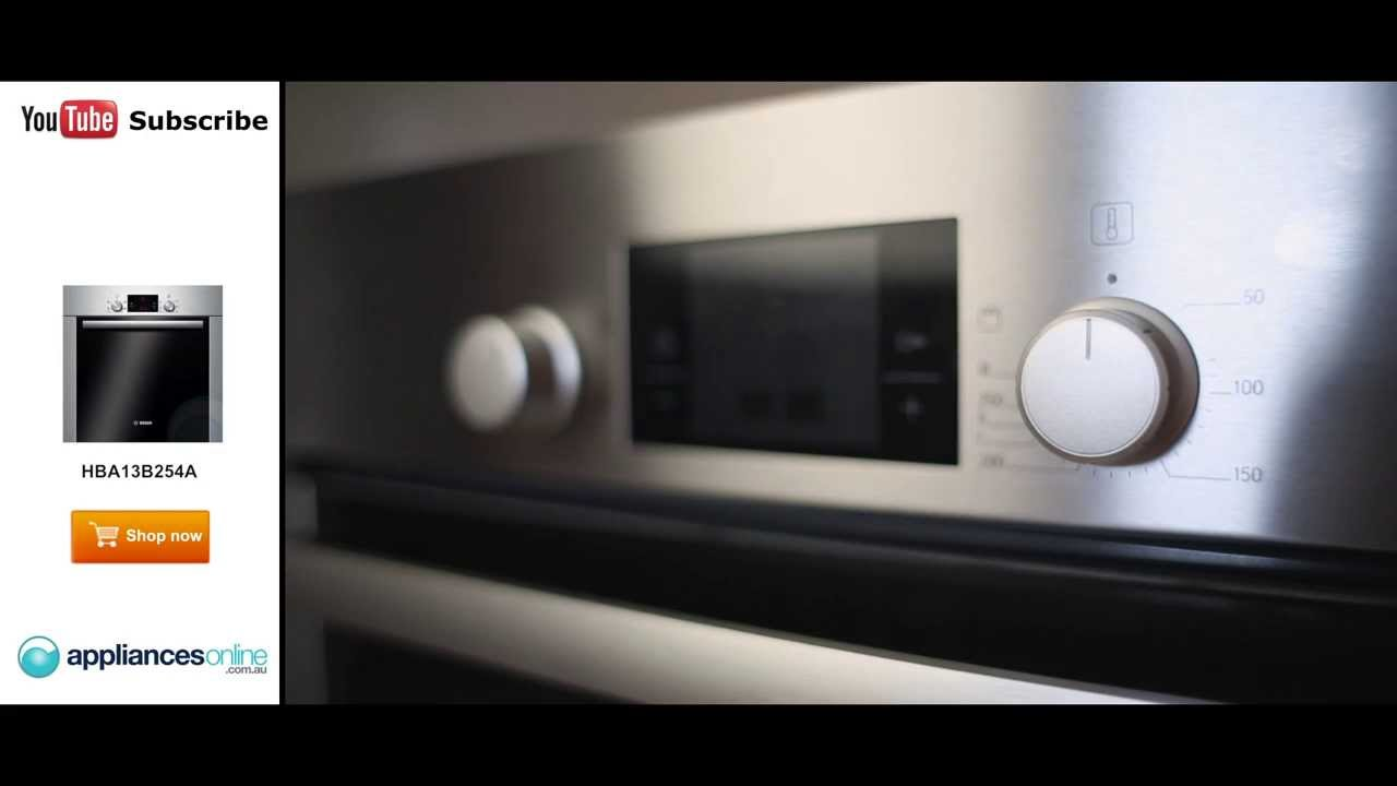 expert describes the high quality bosch hba13b254a electric wall oven appliances online youtube