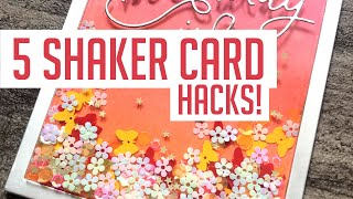 10 Shaker Card Hacks You Should Try!