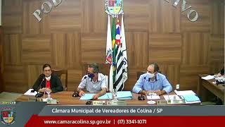 Câmara Municipal de Colina - 6ª Sessão Extraordinária 10/07/2020