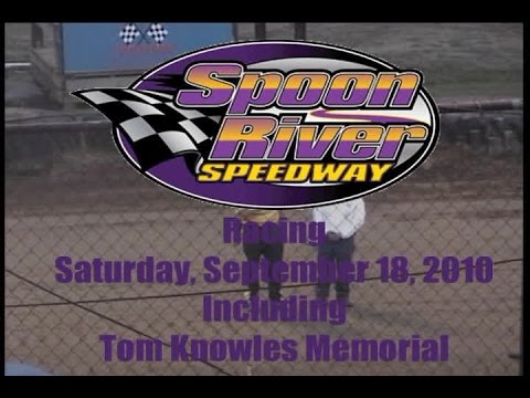 Spoon River Speedway Tom Knowles Memorial 91816 New