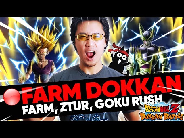 BISTRO DOKKAN - Farm, ZTUR Janemba, BattleRoad, Goku Rush