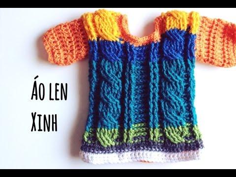 Móc áo len xinh cho bé  ( Phần 1)