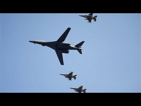 U.S. Flies Bombers Near North Korean Border