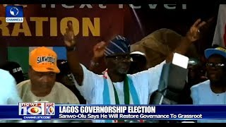 Sanwo-Olu Says He Will Restore Governance To The Grassroots In Lagos