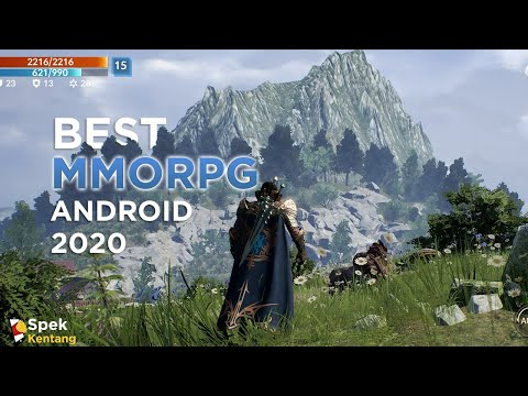 5 Game MMORPG Terbaik Android 2020 Grafik HD