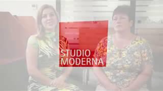 О работе в Studio Moderna рассказывает Alla и Irina