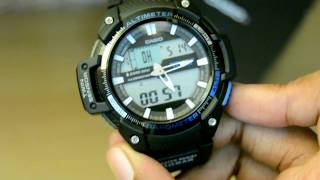 CASIO SGW-450H-1A Watch Unboxing and review(Outgear)(1080p)