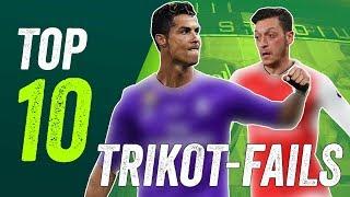 Hässliche Trikots - 10 Kit Fails der Saison 2017/18