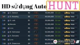 [Fo3 Korea] - Hướng dẫn sử dụng Auto Hunt cầu thủ LP mới nhất Fifa online 3 Sau Update 2017