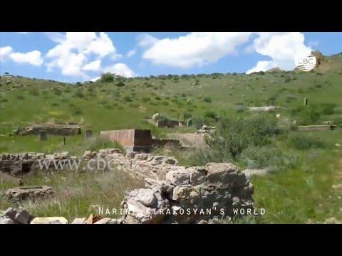 Разрушенное мусульманское кладбище в Армении