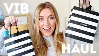 HUGE SEPHORA HAUL // Spring VIB Sale + MORE!