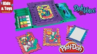 Play-doh Doh Vinci Anywhere Art Studio Easel & Storage Case Hasbro Play-doh Toys Review