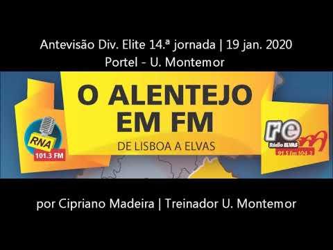 Antevisão Portel - U. Montemor | Div. Elite 14ª jornada