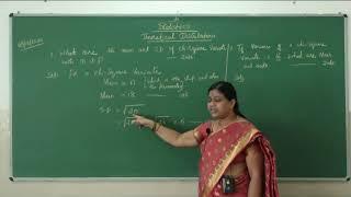II PUC   Statistics   Theoretical distributions-25