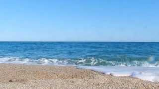 White Noise Wind Blowing and Ocean Waves Sound [ Sleep Music ]