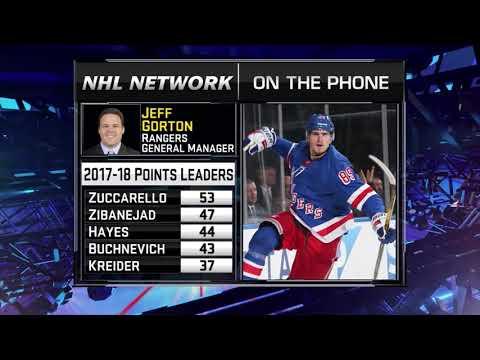 NHL Tonight:  Jeff Gorton:  on Rangers` development camp, prospects  Jul 24,  2018