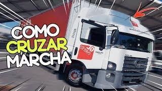 CRUZANDO MARCHA NO 24-250 DIRETÃO  | DICA CRUZAR MARCHA 😱