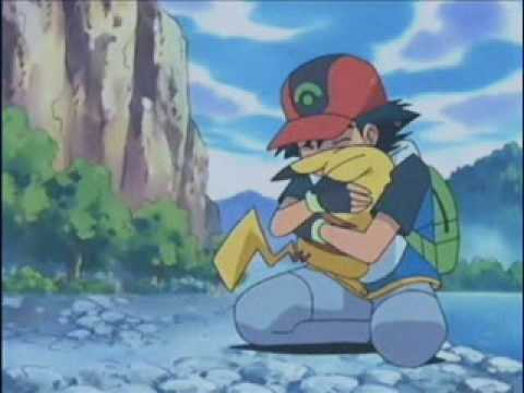 pokemon {pikachu's goodbye} - YouTube Pikachu And Ash Say Goodbye