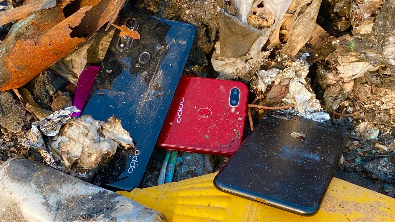 Amazing Restoration , Restoring Very old Phone oppo, Looking For Old smartphones In Trash