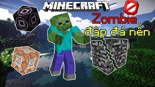 Top 5 Khối Cứng Nhất Trong Minecraft - Zombie Phá Đá Nền??!