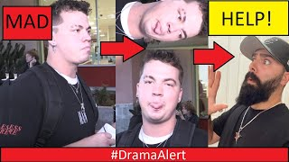 YouTuber wants to BEAT ME UP!! #DramaAlert - MrBeast MAD!