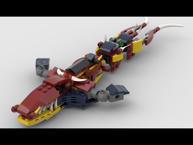 Lego 31102 sea monster MOC Alternative Build