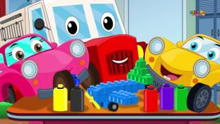 Ralph And Rocky | Street Vehicles | Car Song And Rhymes For Children
