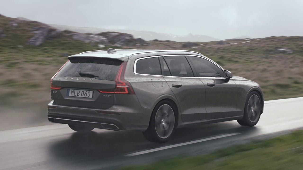 new volvo v60 2019 - driving footage  no sound