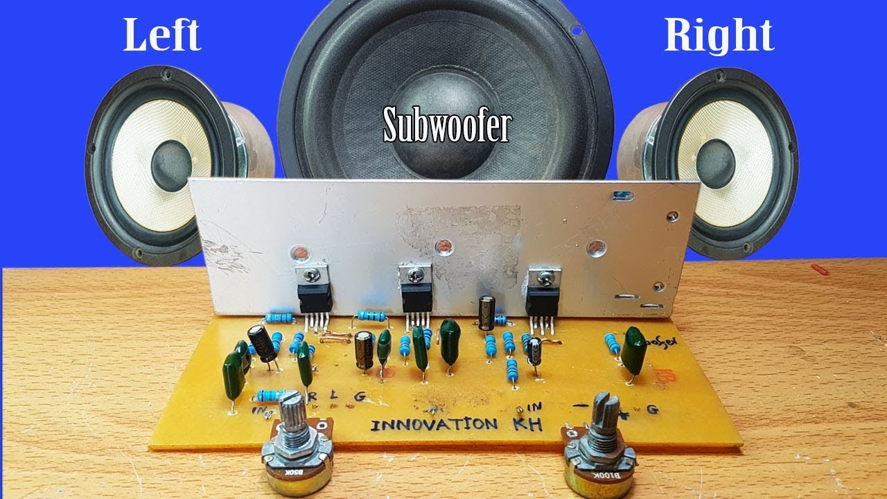 Subwoofer Ic Tda 2030 Stk024 Stk031 Stk035 Amplifier Circuits This Is Tda2030 Circuit That Use The Integrated